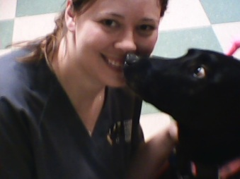Dr.Heather and Shadow